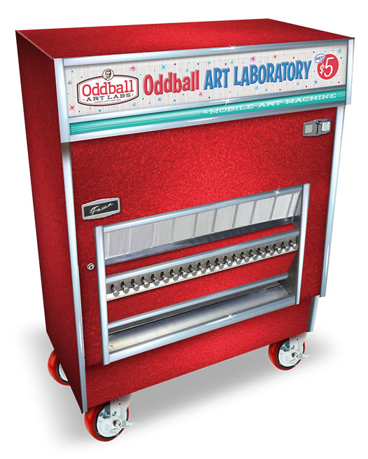 Oddball Art Labs Mobile Art Machine