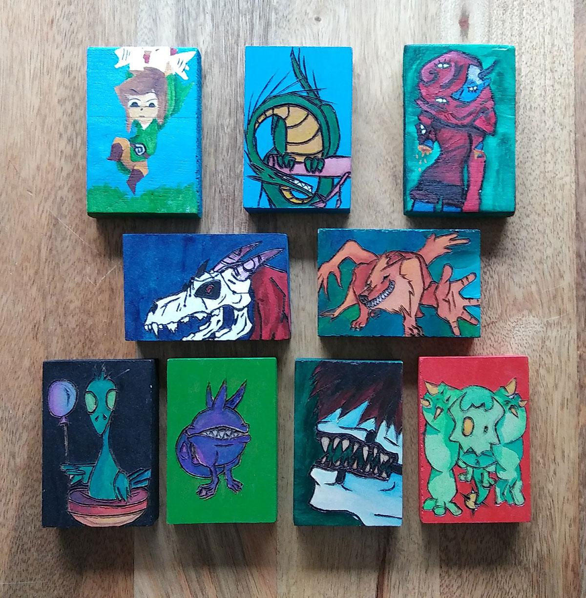 New Art Blocks by Nakeita Brewer