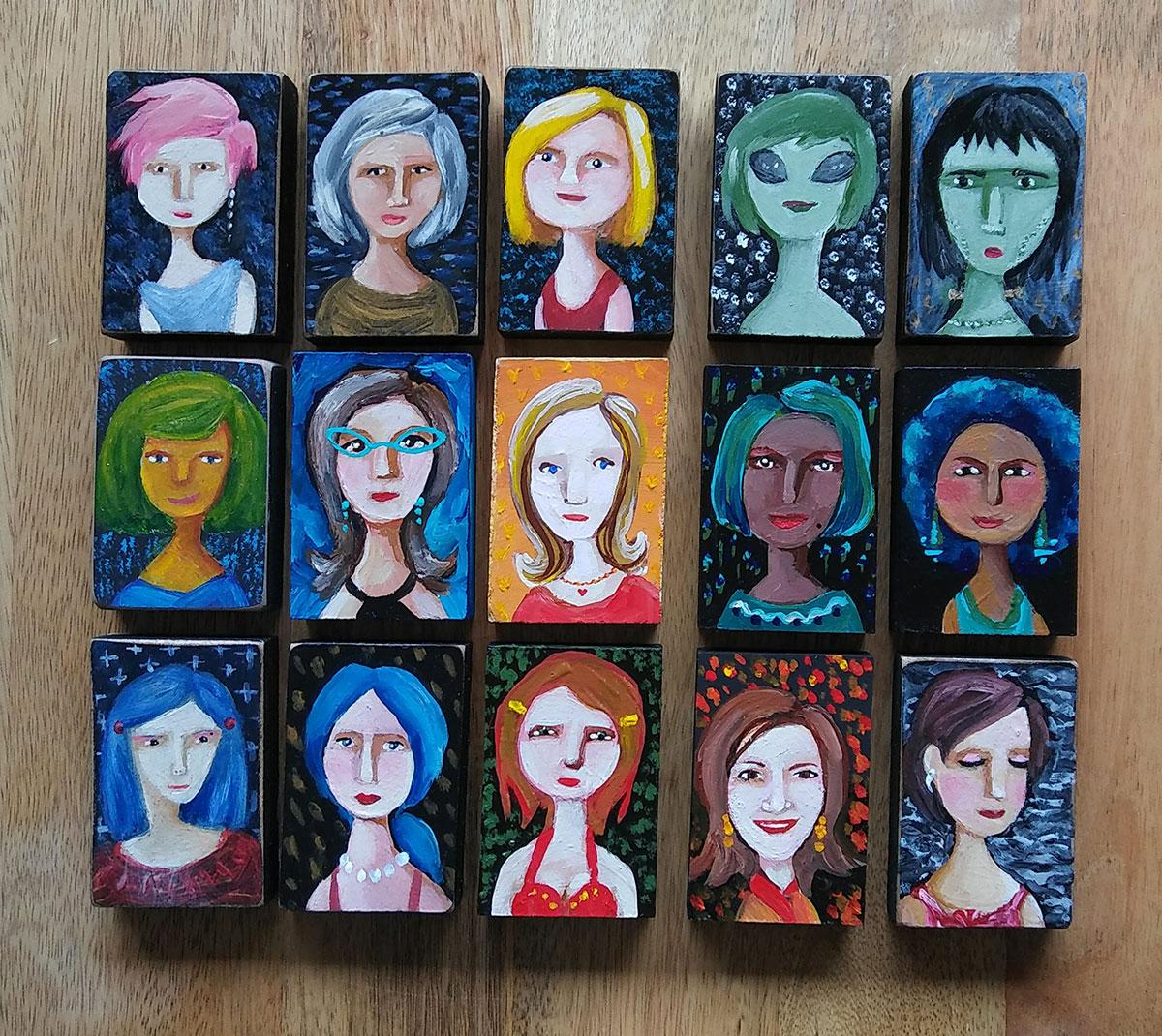 New 'Pam People' Art Blocks