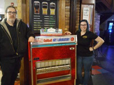 Mobile Art Machine at Elgin Public House