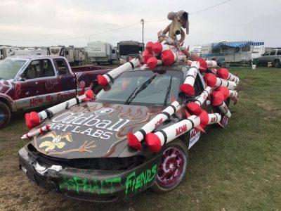 Oddball Art Labs Demolition Derby Car