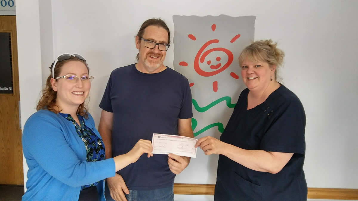 Donation to Well Child Center in Elgin