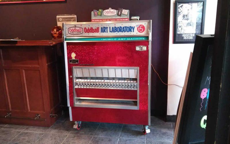 Mobile Art Machine Martini Room