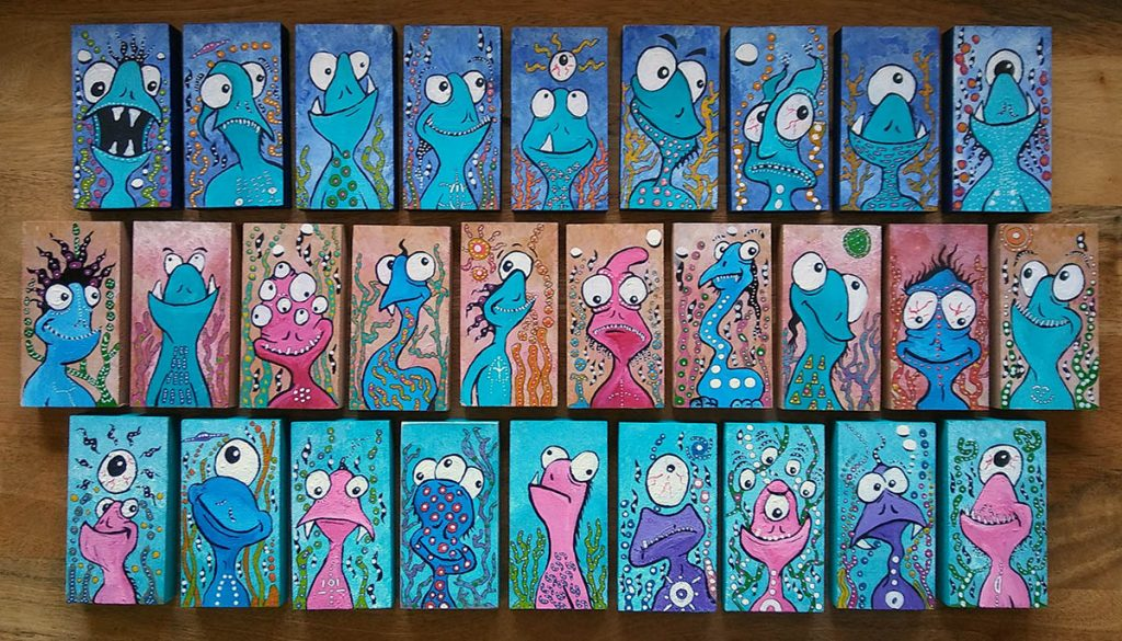 Tiny Monsters by BaM!