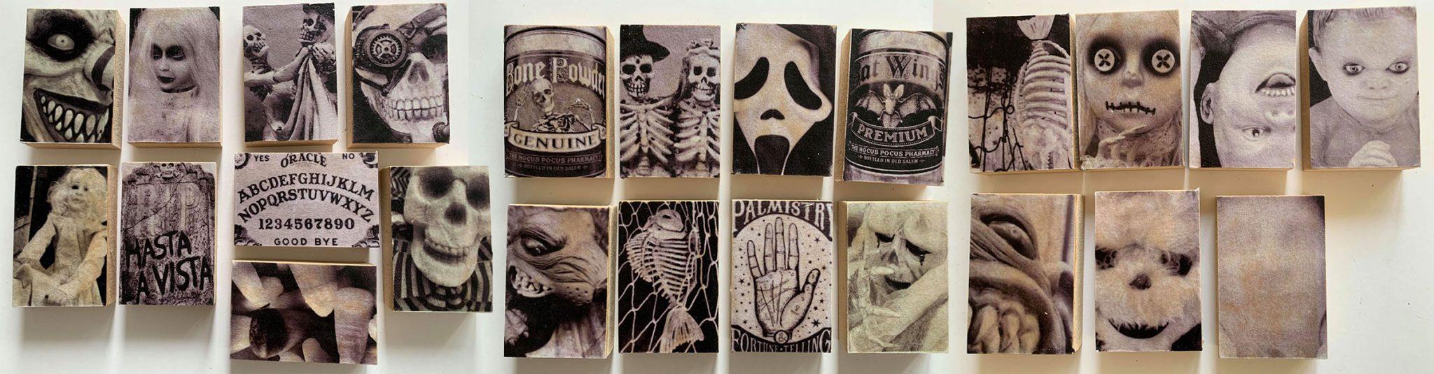 "Jane Erlandson's ""Snaps of Spook"" Art Blocks"