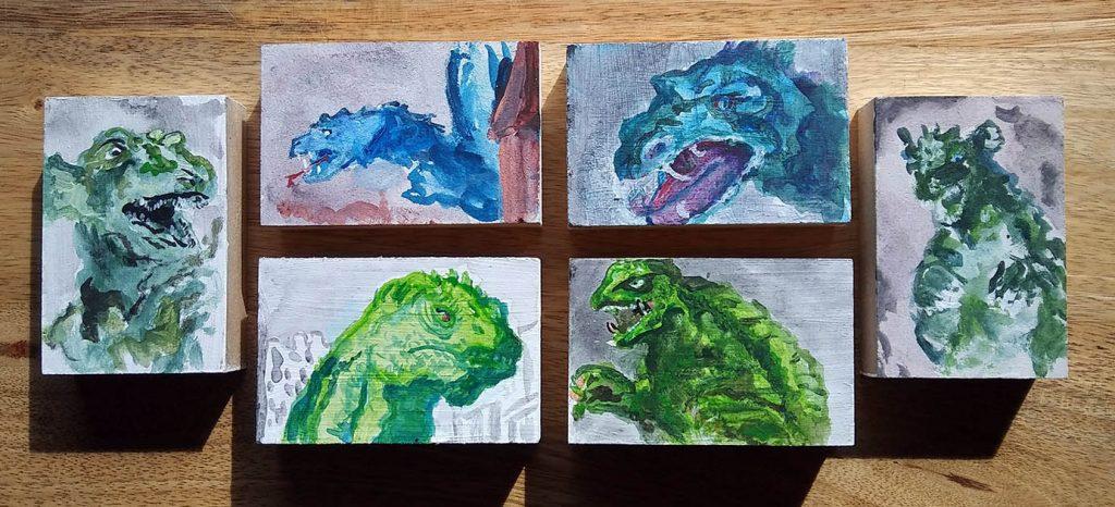 """Lance """"Doc"""" Boucher Godzilla"""