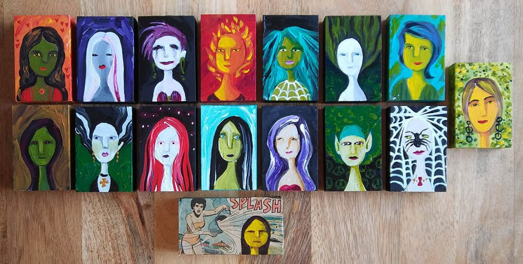 Monster 'Pam People' Art Blocks