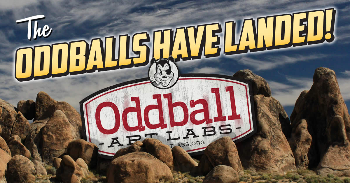 Oddball Art Labs Invades the Prairie Center for the Arts in Schaumburg!
