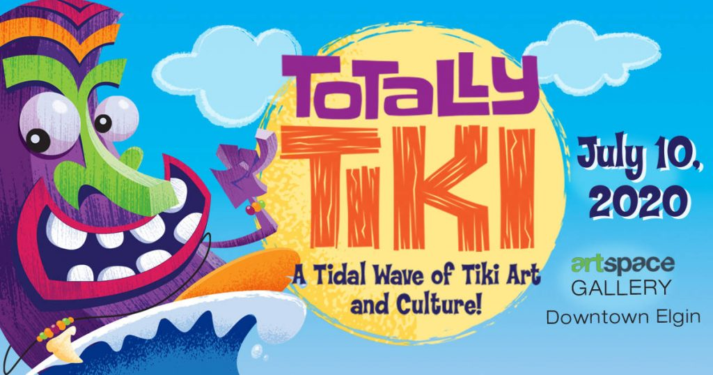 Totally Tiki Oddball Art Labs Gallery Show 2020