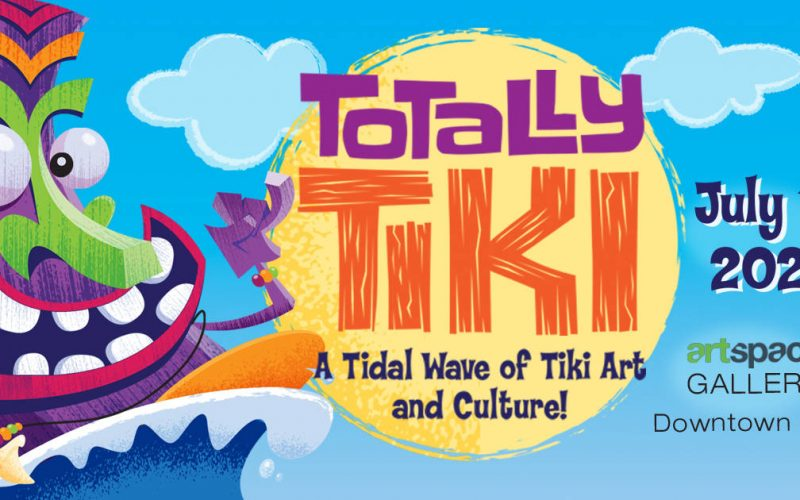 Totally Tiki Oddball Art Labs Gallery Show 2020