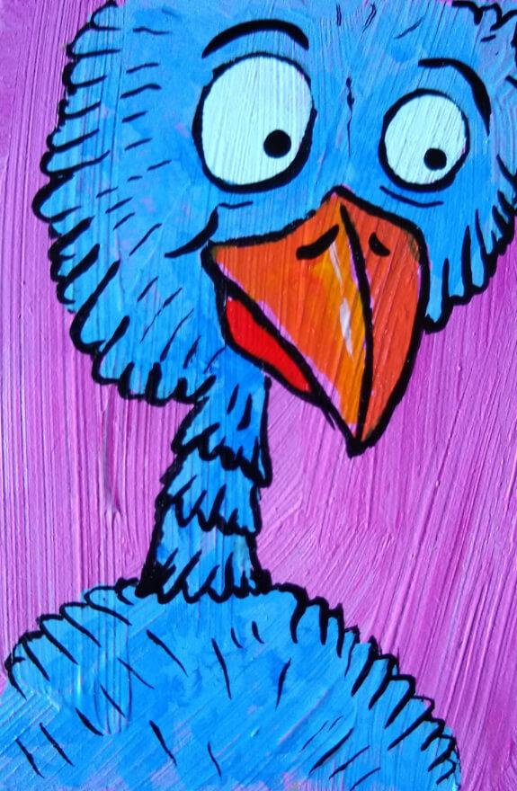 Mike Rende Strange Birds