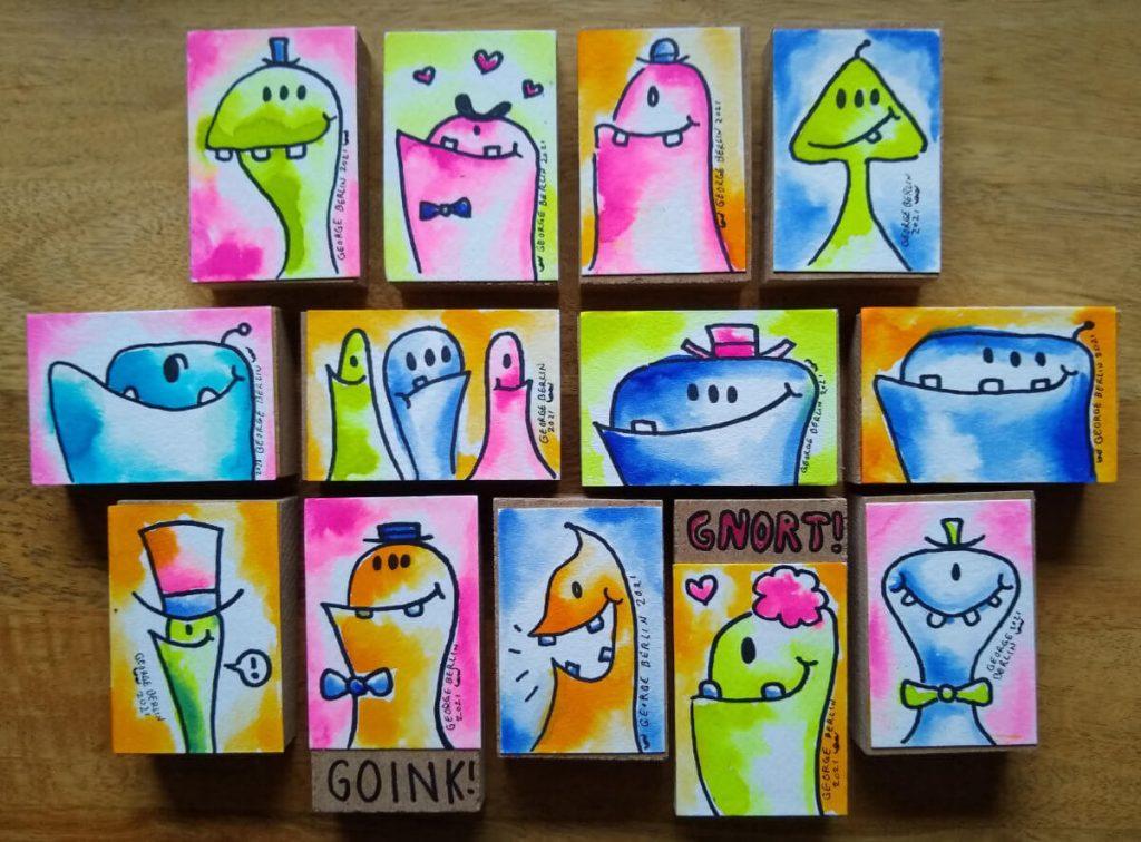 George Berlin Art Blocks