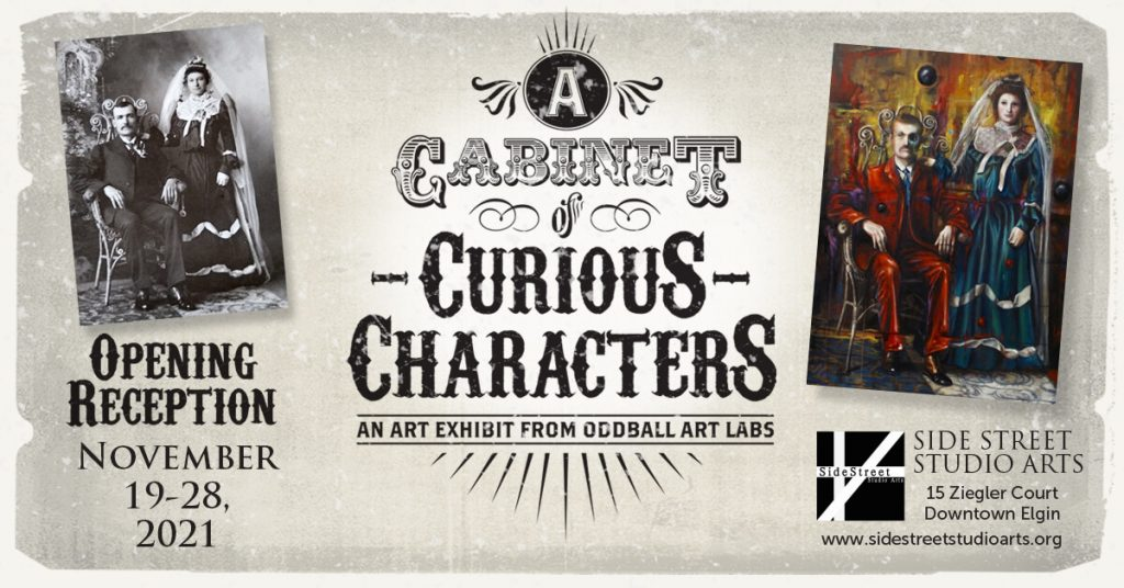 Cabinet of Curious Characters Show 11-19-2021