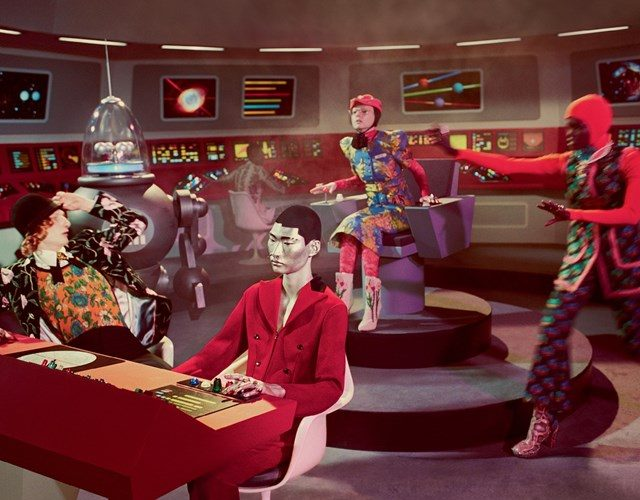 Gucci's Latest campaign inspired by vintage sci-fi – reposted from Juxtapoz