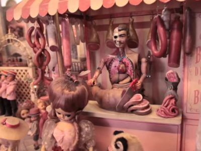 Inspiration for the day! Mark Ryden's amazing Diorama