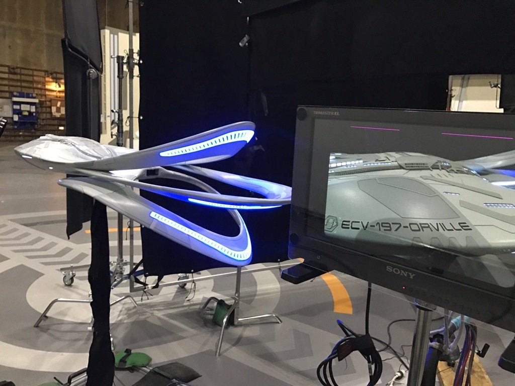 The Orville - Model Filming